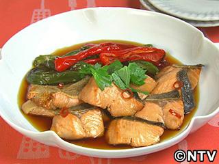 キューピー3分クッキング レシピ 作り方 材料 9月12日 鮭の焼きづけ