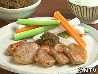 キューピー3分クッキング レシピ 作り方 材料 9月14日 豚肉のソテーごぼうみそ添え