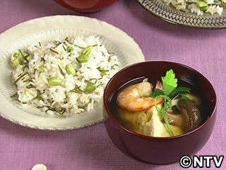 キューピー3分クッキング レシピ 作り方 材料 9月17日 卵豆腐のすまし汁