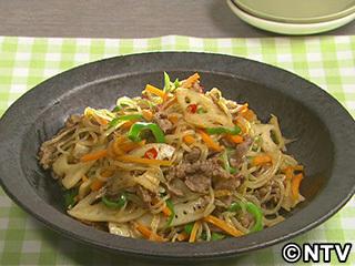 キューピー3分クッキング レシピ 作り方 材料 9月25日 牛肉の五目きんぴら