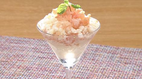 おびゴハン レシピ 材料 作り方 9月3日 豆乳トマトアイス