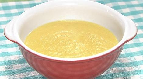 おびゴハン レシピ 材料 作り方 中華風コーンスープ