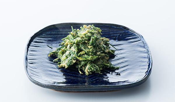 おかずのクッキング レシピ 土井善晴 土井先生 作り方 材料 おかひじきの炒り卵
