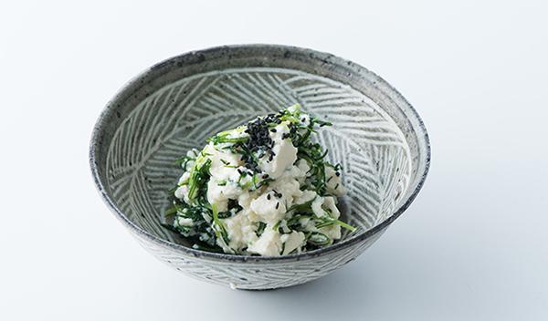 おかずのクッキング レシピ 土井善晴 土井先生 作り方 材料 おかひじきの白和え