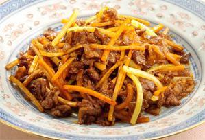 上沼恵美子のおしゃべりクッキング レシピ 作り方 弁当 牛肉の四川風きんぴら