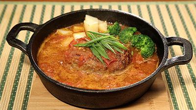 相葉マナブ 信州味噌 味噌トマト煮込みハンバーグ