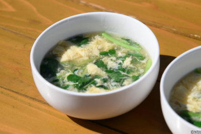 青空レストラン レシピ 作り方 10月13日 クレソン 中華スープ