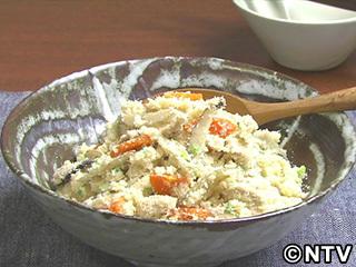 キューピー3分クッキング レシピ 作り方 材料 10月4日 五目おから煮