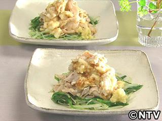 キューピー3分クッキング レシピ 作り方 材料 10月5日 豚しゃぶとたたき長芋のみそあえ