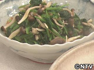 キューピー3分クッキング レシピ 作り方 材料 10月10日 ほうれん草ときのこのおひたし