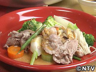 キューピー3分クッキング レシピ 作り方 材料 10月15日 野菜と豚肉のフライパン蒸し