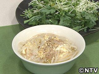 キューピー3分クッキング レシピ 作り方 材料 10月17日 もやしと卵のあんかけごはん