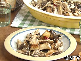 キューピー3分クッキング レシピ 作り方 材料 10月18日 鶏肉ときのこのマリネ