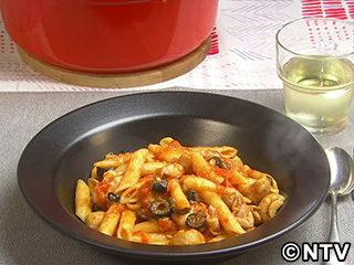キューピー3分クッキング レシピ 作り方 材料 10月26日 トマトソースの煮込みペンネ