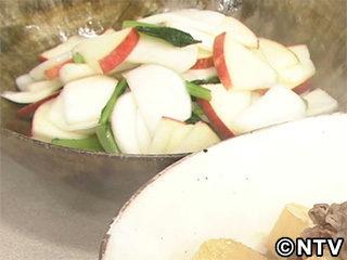 キューピー3分クッキング レシピ 作り方 材料 11月2日 かぶとりんごの甘酢あえ