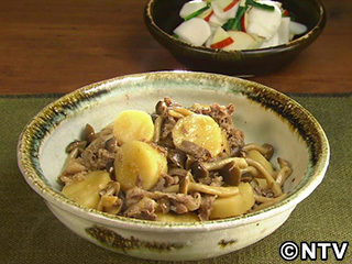 キューピー3分クッキング レシピ 作り方 材料 11月2日 牛肉と長芋の甘辛煮