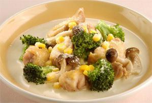 上沼恵美子のおしゃべりクッキング レシピ 作り方 鶏とブロッコリーのクリーム煮