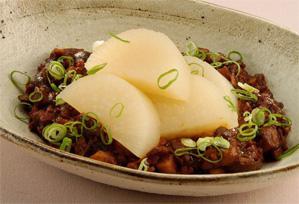 上沼恵美子のおしゃべりクッキング レシピ 作り方 10月29日 ふろふき大根のきのこ味噌