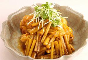 上沼恵美子のおしゃべりクッキング レシピ 作り方 11月1日 ごぼうと鶏のさっぱり煮