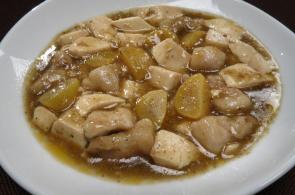 レシピ ちちんぷいぷい キッチンぷいぷい 作り方 材料 豚肉と栗の麻婆豆腐