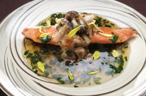 レシピ ちちんぷいぷい キッチンぷいぷい 作り方 材料 しめじと鮭の蒸し焼き