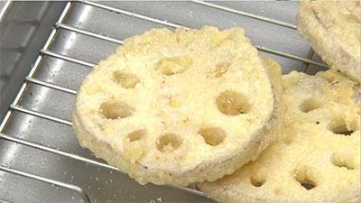 相葉マナブ なるほどレシピ 旬の産地ごはん 作り方 材料 11月4日 れんこん 天ぷら