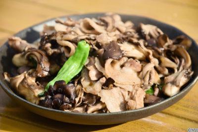 青空レストラン レシピ 作り方 11月24日 黒舞茸 かんずり炒め