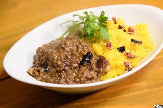 青空レストラン レシピ 作り方 11月3日 黒イチジク 黒イチジクのドライカレー
