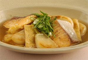 上沼恵美子のおしゃべりクッキング レシピ 作り方 11月5日 鮭とカブのやさしい煮もの