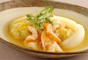 上沼恵美子のおしゃべりクッキング レシピ 作り方 簡単スピードメニュー 11月 白菜と海老のとろっと煮