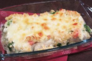 レシピ ちちんぷいぷい キッチンぷいぷい 作り方 材料 牡蠣と明太子のクリームグラタン