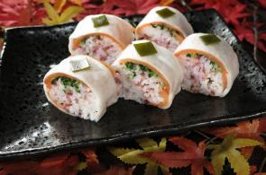 レシピ ちちんぷいぷい キッチンぷいぷい 作り方 材料 千枚漬けの棒寿司