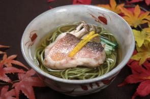 レシピ ちちんぷいぷい キッチンぷいぷい 作り方 材料 甘鯛の茶そば