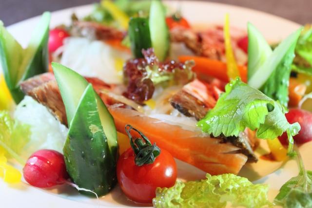 世界一受けたい授業 マクロビ食事法 マドンナ 中性脂肪 ダイエット サラダ