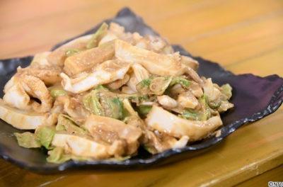 青空レストラン レシピ 作り方 12月15日 スミイカ イカ団子スープ 肝味噌炒め