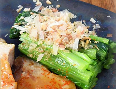 男子ごはん レシピ 作り方 国分太一 栗原心平 冬の和定食 青菜のおひたし