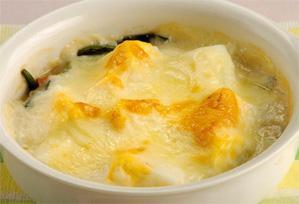 上沼恵美子のおしゃべりクッキング レシピ 作り方 冬の葉物野菜 12月 ほうれんそうのグラタン