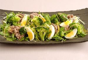 上沼恵美子のおしゃべりクッキング レシピ 作り方 冬の葉物野菜 12月 ブロッコリーの温かいサラダ