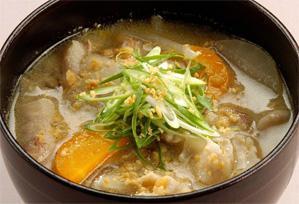 上沼恵美子のおしゃべりクッキング レシピ 作り方 具だくさんのスープ こくうま豚汁
