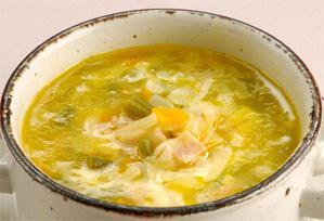 上沼恵美子のおしゃべりクッキング レシピ 作り方 具だくさんのスープ ミネストローネ