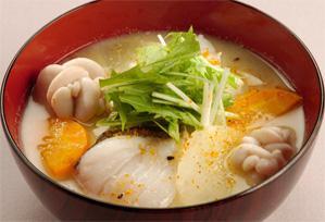 上沼恵美子のおしゃべりクッキング レシピ 作り方 具だくさんのスープ たらの親子椀