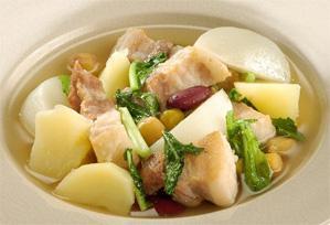 上沼恵美子のおしゃべりクッキング レシピ 作り方 具だくさんのスープ ガリシア風スープ