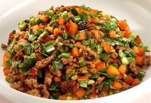 上沼恵美子のおしゃべりクッキング レシピ 作り方 簡単スピードメニュー 挽肉とニラのトウチー炒め