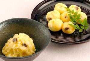 上沼恵美子のおしゃべりクッキング レシピ 作り方 12月 パーティーメニュー リンゴ入り芋きんとん