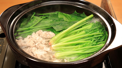 相葉マナブ なるほどレシピ 旬の産地ごはん 作り方 材料 ほうれん草 常夜鍋