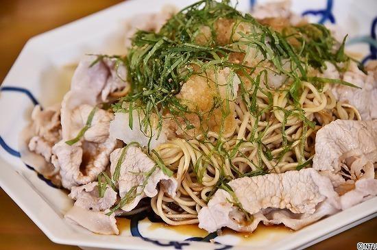 青空レストラン レシピ 作り方 1月19日 焼きそば 愛知 大磯屋製麺所 おろし冷しゃぶ焼きそば