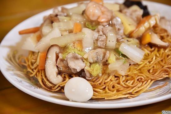 青空レストラン レシピ 作り方 1月19日 焼きそば 愛知 大磯屋製麺所 塩あんかけかた焼きそば