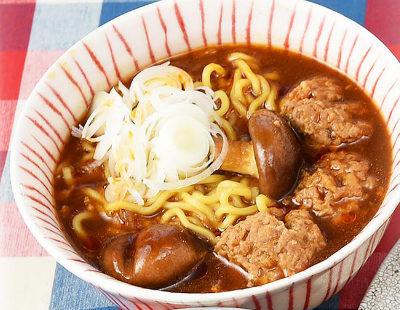 男子ごはん レシピ 作り方 国分太一 栗原心平 アレンジ麺 肉団子のみそとろみ麺