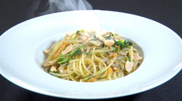 魔法のレストラン レシピ 作り方 材料 タケウチ 豆苗ペペロンチーノ