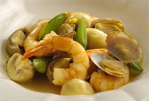 上沼恵美子のおしゃべりクッキング レシピ 作り方 海の幸とマッシュルームの蒸し煮